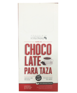 Chocolate para taza, Chocolate Colonial.