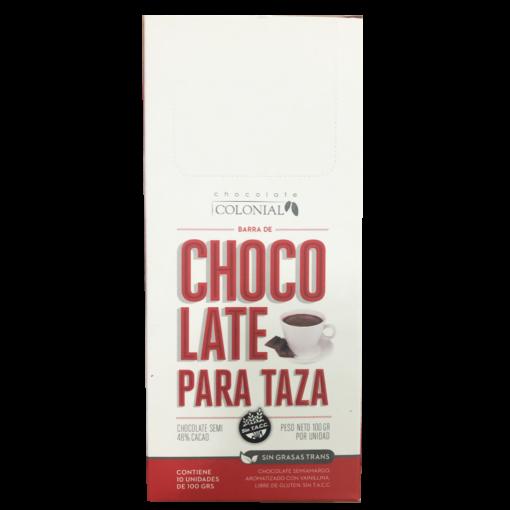 Chocolate para taza, Chocolate Colonial.