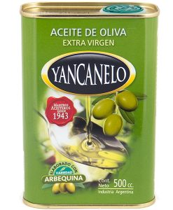 Aceite Yancanello Arbequina