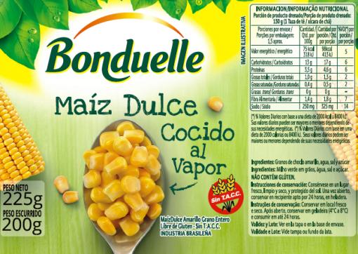 Choclo Dulce Grano Amarillo (origen Brasil)