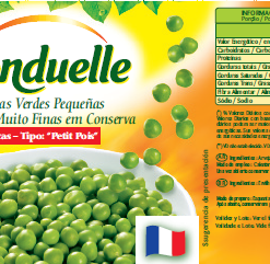 Arvejas pequeñas verdes (origen Francia)