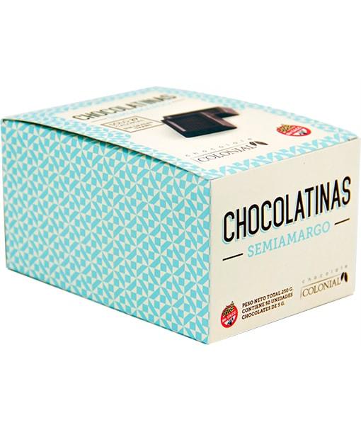 Estuche chocolatinas semiamargas
