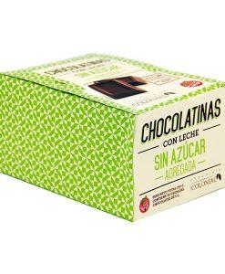 Estuche chocolatinas sin azúcar agregada