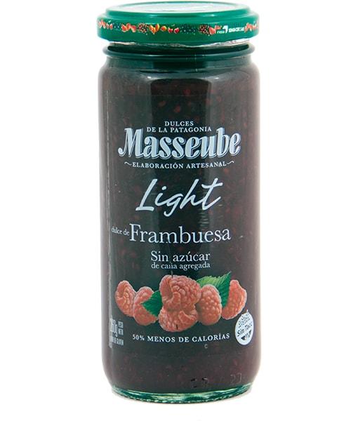 Dulce Light Masseube de Frambuesa 12 Unidades de 260 gr.