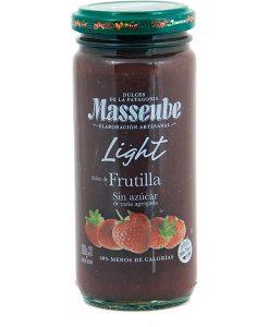 Dulce Masseube Light de Frutilla 12 Unidades de 260 gr.