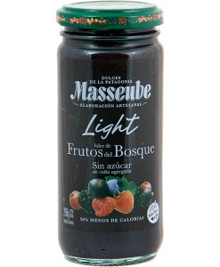 Dulce Masseube Light de Frutos del Bosque 12 Unidades de 260 gr.