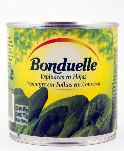 Espinacas en hojas (origen Francia)