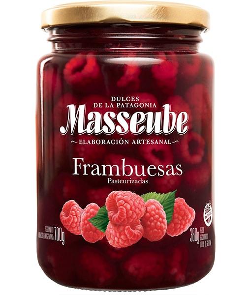 Frambuesa en almíbar Masseube