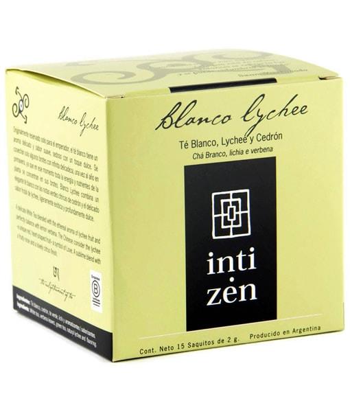 Té blanco Lychee Inti Zen 15 saquitos