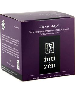 Té negro Inca Rose Inti Zen 15 saquitos
