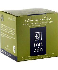 Té negro Silencio Andino Inti Zen 15 saquitos