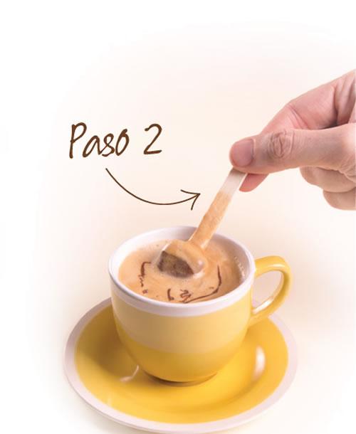 Choco Stick chocolate en palito para bebidas paso2