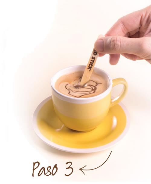 Choco Stick chocolate en palito para bebidas paso3