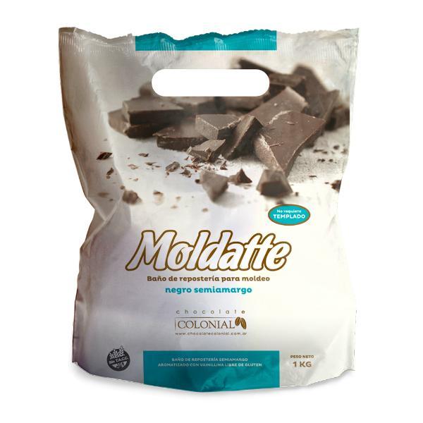 Moldatte baño de moldeo Chocolate Semiamargo sin Tacc
