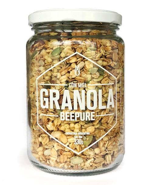 Granola Bee Pure Frasco 330 gr.