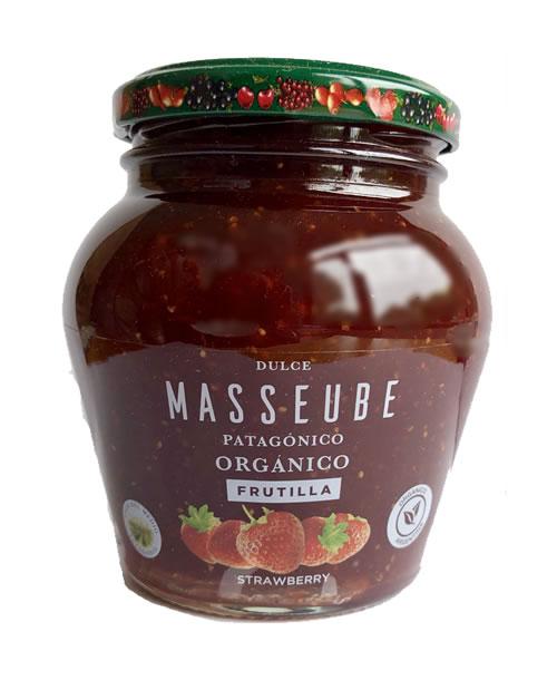 Dulce Masseube Frutilla Orgánico 12 Unidades de 350 gr.