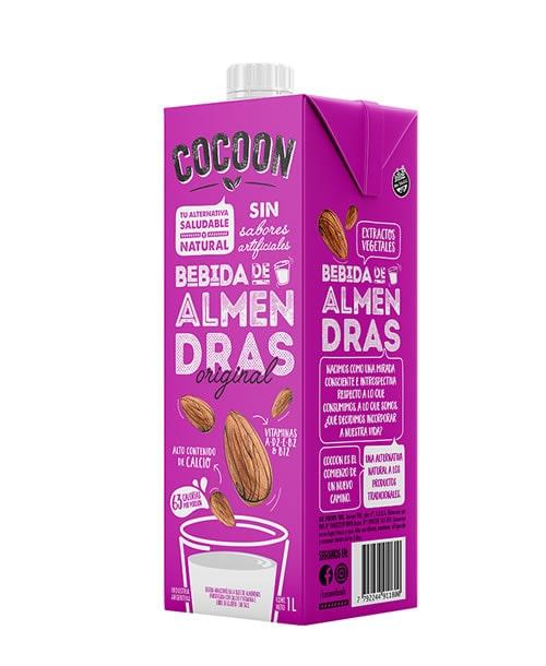 Leche de Almendras Original Cocoon 12x1lt.