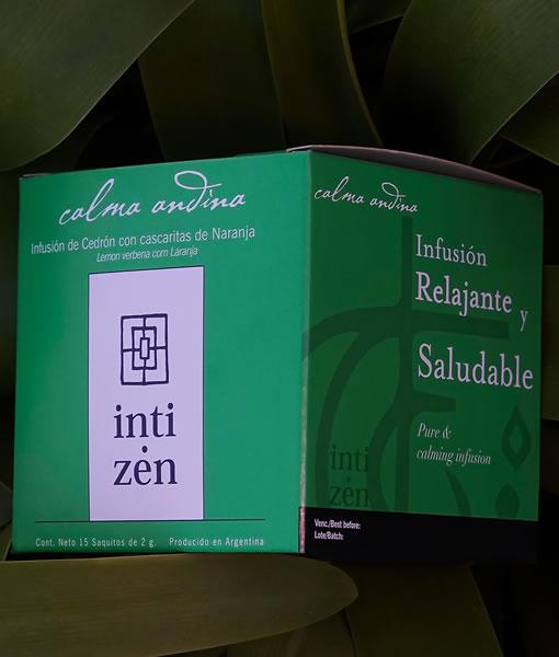 Calma Andina, tisanas Inti Zen 15 saquitos