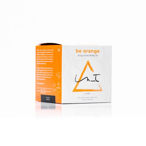 Be Orange 12 Piramides de te Hebra Premium by iZen Inti Zen