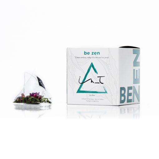 Be Zen 12 Piramides de te Hebra Premium by iZen Inti Zen