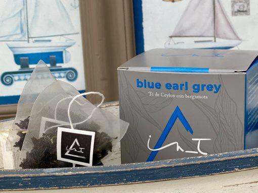 Blue Earl Grey Organico 12 Piramides te Hebra Premium by iZen Inti Zen