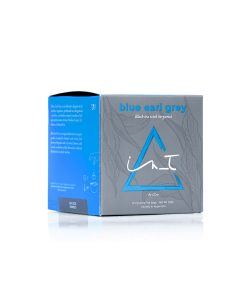 Blue Earl Grey 12 Triangulos te Hebra Premium by iZen Inti Zen
