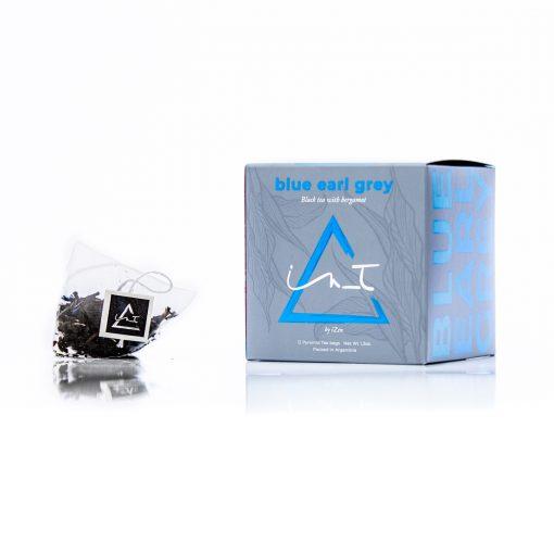Blue Earl Grey 12 Triangulos te Hebra Premium by iZen Inti Zen