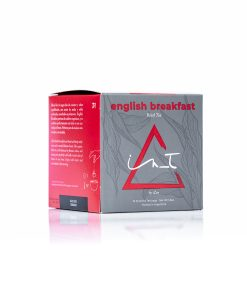 English Breakfast Organico 12 Piramides te Hebra Premium by iZen Inti Zen