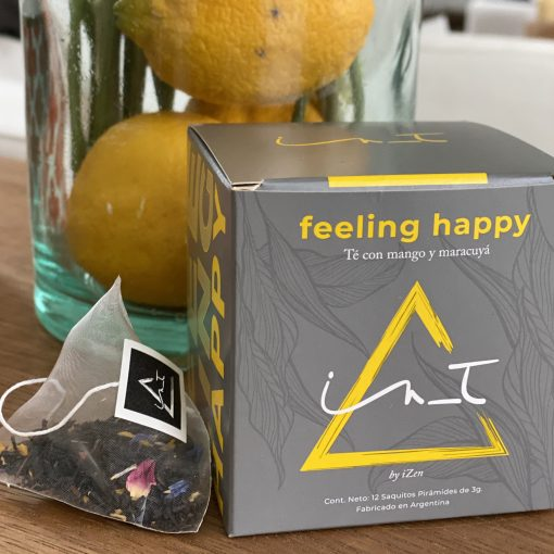 Feeling Happy triangulos de te en Hebras by iZen Inti Zen