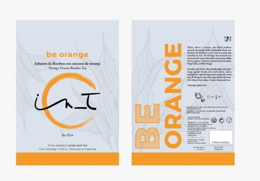 Be Orange Doy Pack 60 gr In_T by IZen Inti Zen