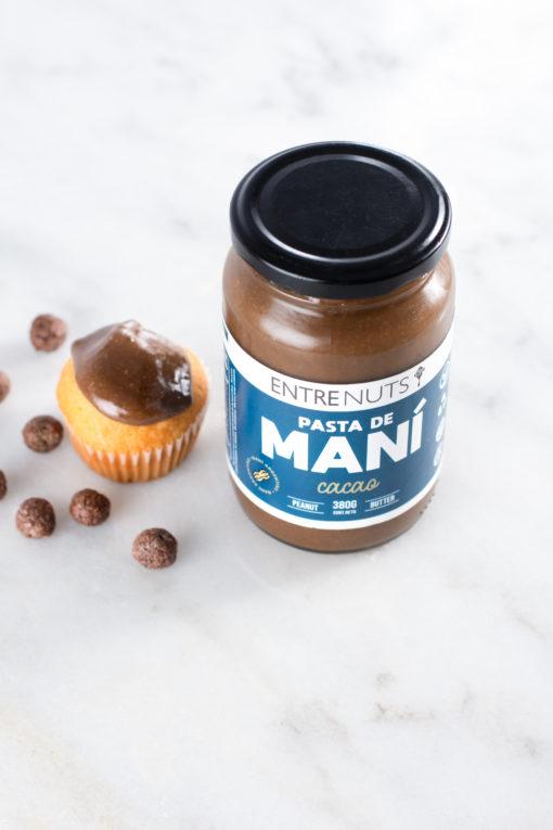 Pasta de Mani Cacao EntreNuts x 400
