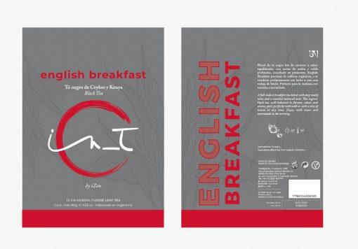 English Breakfast Organico Doy Pack 60 gr by iZen Inti Zen