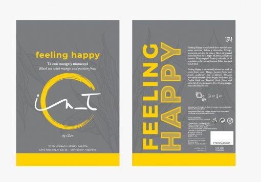 Feeling Happy Mango y Maracuya Doy Pack 60 gr by iZen Inti Zen