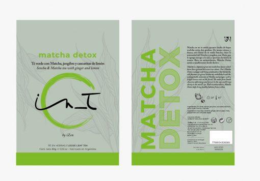 Matcha Detox Doy Pack 60 gr by iZen Inti Zen