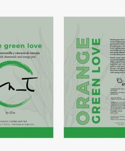 Orange Green Love Doy Pack 60 gr by iZen Inti Zen