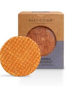 The Classic Stroopwafel by Pasticcino Barquillo con Relleno de Caramelo y Manteca