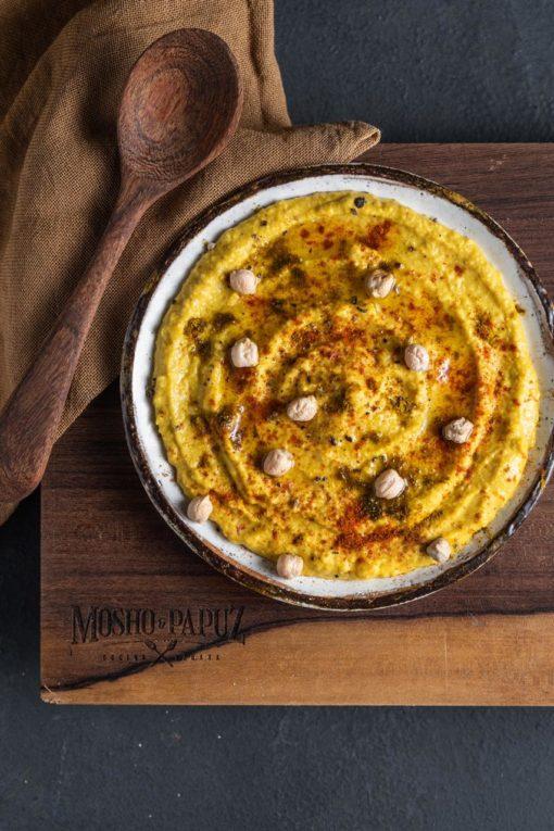 Hummus con higos Turcos x 170 gr Mosho & Papuz