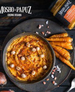 Hummus con Zanahorias Asadas x 170 gr Mosho & Papuz
