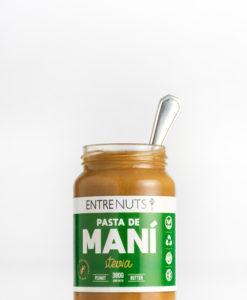 Pasta de Mani Endulzado con Stevia EntreNuts x 400